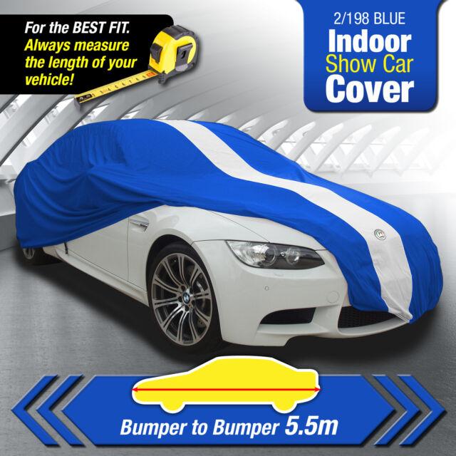 Autotecnica 2/198 BLUE INDOOR  SHOW CAR  COVER < Bumper to Bumper 5.5m Length