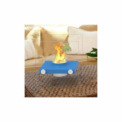 Regal Flame Luminox Ventless Portable Bio Ethanol Tabletop Fireplace