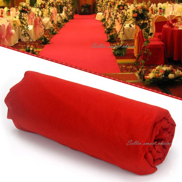 Red Carpet Runner Wedding Party Awards Hollywood Casino Decoration Night 5m*1m