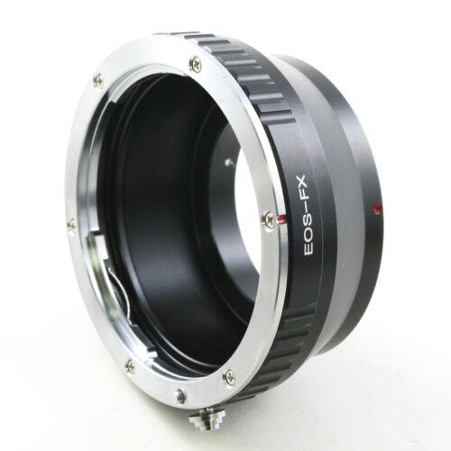 Canon EOS EF-S lens to Fujifilm X mount FX camera adapter X-Pro1 Pro2 E2 T1 T10