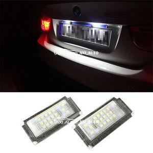 2x-LED-16SMD-License-Plate-Light-For-Mini-Cooper-S-R50-R52-04-08-R53-2001-2006