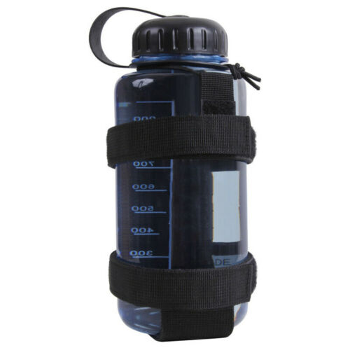 Water Bottle Holder Belt Carrier Pouch Outdoor Travel Hiking Camping 2 Colors