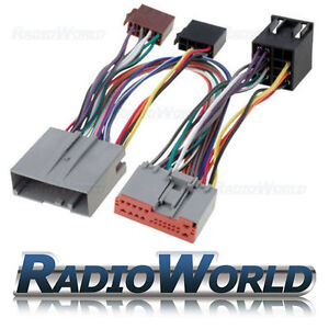 Ford-Fiesta-amp-Fusion-2002-to-2005-Handsfree-Bluetooth-Parrot-Adaptor-ISO-Lead