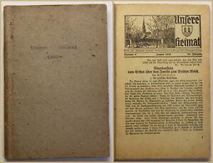 Unsere-Heimat-Beilage-zum-Wilsdrufer-Anzeige-28-Jhg-1939-Sachsen-Geschichte-sf