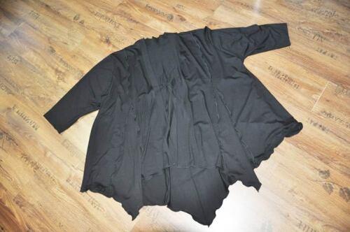 Punta Jersey nero Lungo 52 54 A 48 Xxl 50 ° Cardigan wqTAxtX