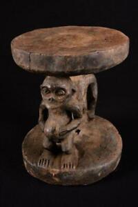 11720-Africain-Vieux-Bulu-Tabouret-Cameroun