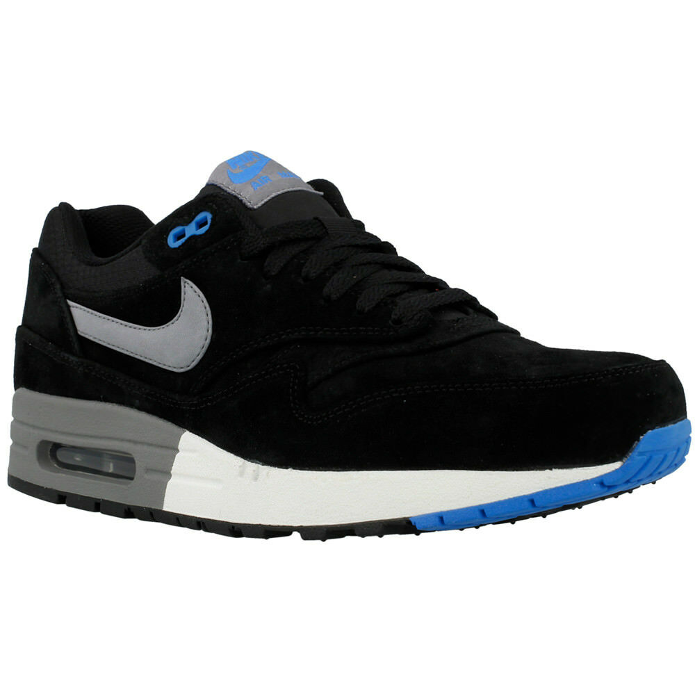 Nike Air Max 1 Premium noir Gr:43 US:9,5 90 95 97 Neu Sneaker Suede Wildleder