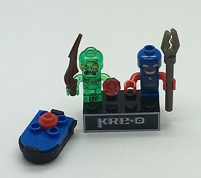 Kre-o Kreo Mini figure Cityville Invasion Collection 2 Sgt Shades Dug Runner