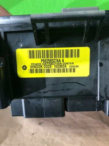 15 16 DODGE RAM 1500 TIPM POWER DISTRIBUTION CENTER 68258527AA # 1625