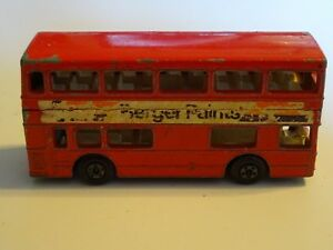 Lesney-Matchbox-Series-17-Londoner-Bus-Superfast-die-cast-car-made-in-England