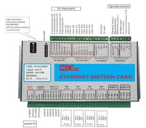 Details about XHC MACH3 3 Axis Ethernet Motion Control Card CNC Breakout  Board for Engraver