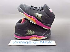 brand new c7f54 96671 item 5 Girls Nike Air Jordan V 5 Black Bright Citrus Fusion Pink Retro TD  2013 sz 7C -Girls Nike Air Jordan V 5 Black Bright Citrus Fusion Pink Retro  TD ...