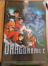 "Dragon Ball Z DBZ Poster HOLO Foil 1999 Vintage RARE 34"" x 22"" Rare NEW BROLY **"