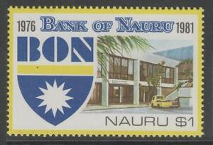 NAURU SG243 1981 5th ANNIV OF BANK OF NAURU $1 MNH