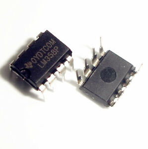 Details about 20pcs LM358P LM358N LM358 DIP-8 Operational Amplifier IC
