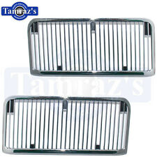 68 69 Chevelle Malibu El Camino SS Hood Grille Louvers / Inserts New