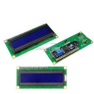 1-2-5-10PCS-1602-16X2-LCD-Module-IIC-I2C-TWI-SP-I-Serial-Interface-Blue-Display