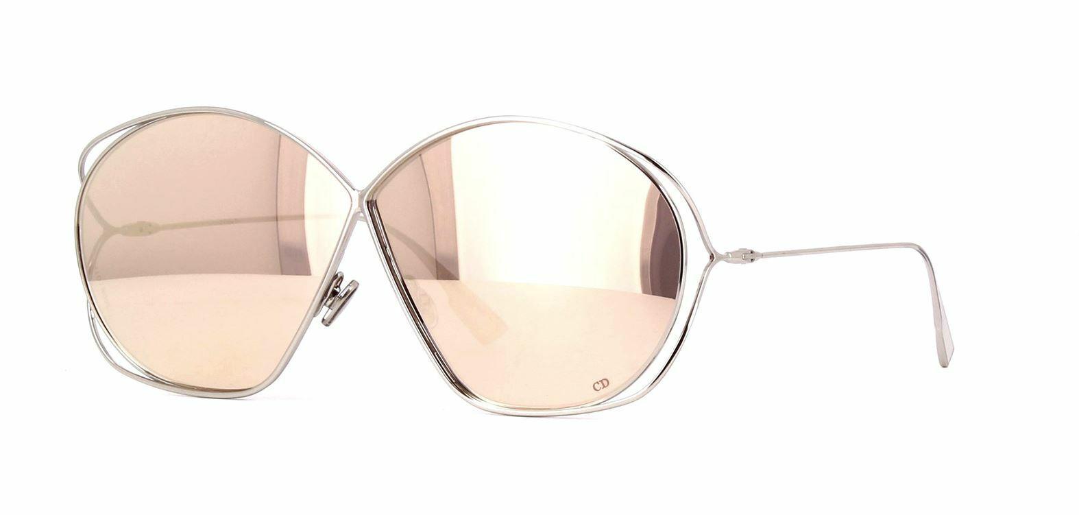 *NEW AUTHENTIC* DIOR STELLAIRE 02 10 PALLADIUM FRAME, Brown/Gold Mirror lens