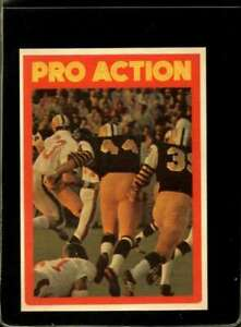 1972-O-PEE-CHEE-CFL-124-PRO-ACTION-EXMT-X2129