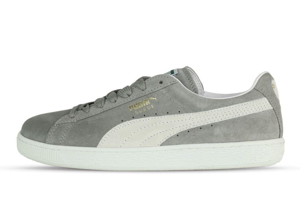 best service 996d8 31507 Puma Suede Classic steeple steeple steeple gray-white 352634 66 - Sneaker -  grau  ...