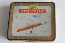 Vintage HENRI WINTERMANS Cafe Creme Mild Holland Cigar Tin Case