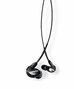 SHURE-SE215-K-UNI-In-Ear-Headphones-IEM-Earphones-w-Mic-amp-Remote-BLACK-Open-Box