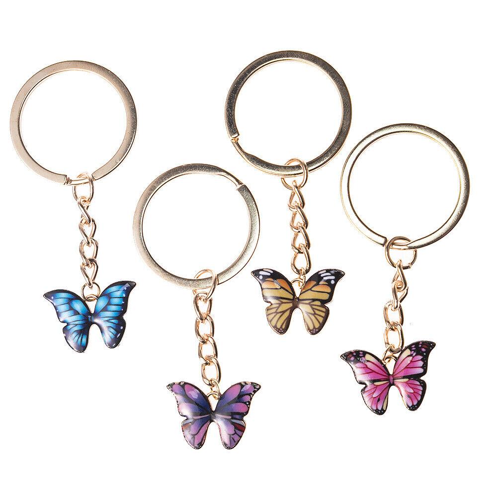Hello Kitty Rubber Keychain Key Ring Bag Accessory Purple