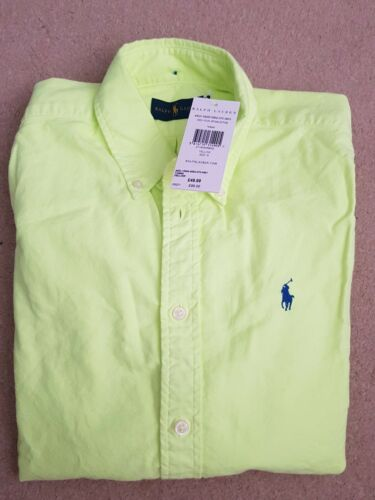 Size Yellow S Shirt Ralph Lauren Women xwq646nSI