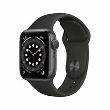 NUEVO Apple Watch Series 6 GPS 40mm Space Grey Aluminum Case Sport Band MG133