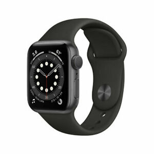 NUEVO-Apple-Watch-Series-6-GPS-40mm-Space-Grey-Aluminum-Case-Sport-Band-MG133