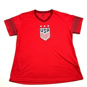 NEW TEAM USA Alex Morgan Dry Fit Shirt Size XL Adult Athletic fit Women's Soccer