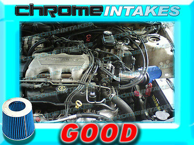 88 89 90 91 92 93 94 CHEVY CAVALIER\Z24 2.8L\3.1L V6 AIR INTAKE KIT Black Blue