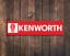 KENWORTH Metal Sign Mechanic Auto Truck Stop Cab Trucker Garage Large Tin Sign