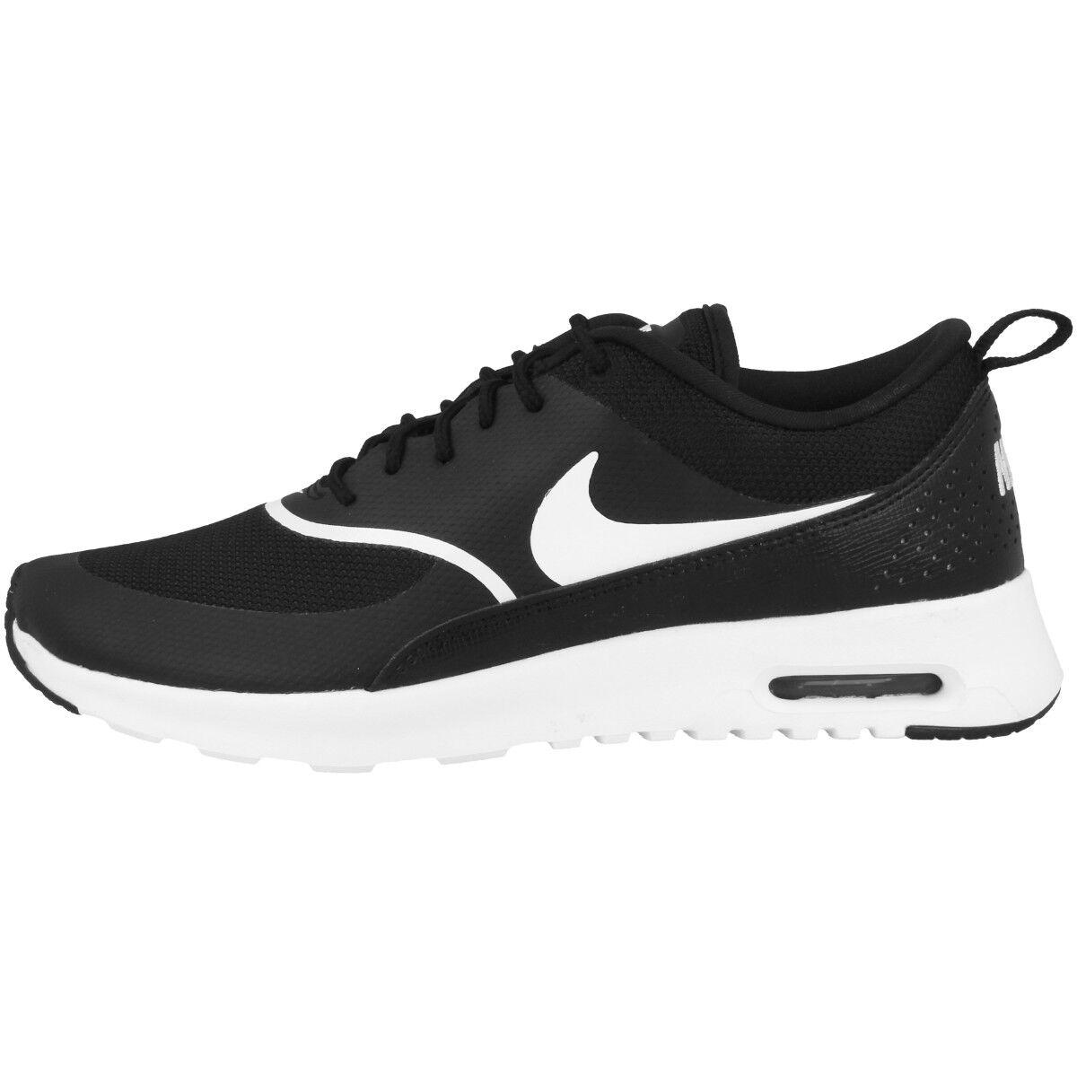 Nike Freizeit Air Max Thea Damens Schuhe Damen Freizeit Nike Sneaker schwarz Weiß 599409-028 6f42ba