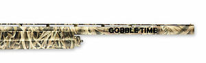 GOBBLE TIME Shotgun or Rifle Turkey Hunting Barrel Decal 2PK