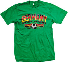 Germany Play Hard German Soccer Ball World Team 2014 Flag DEU DE Men's T-Shirt