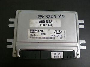 Details about VIN UNLOCKED! 39110-2X131 SIMK42 ECM Engine Computer for  2002,2003 KIA RIO