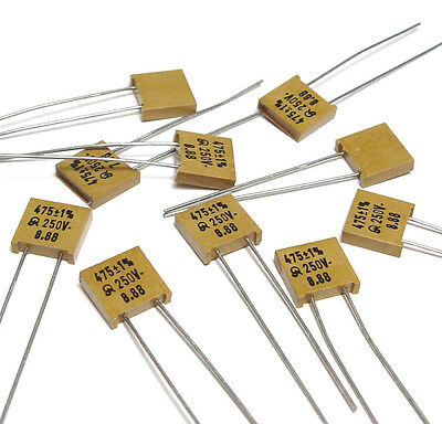 10x years Mica Capacitor 357 PF//1/%//250 volts high-end Mica Capacitor