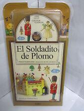 EL SOLDADITO DE PLOMO LIBRO Y AUDIO CD CUENTOS EN ESPANOL PARA NINOS ILUSTRADO