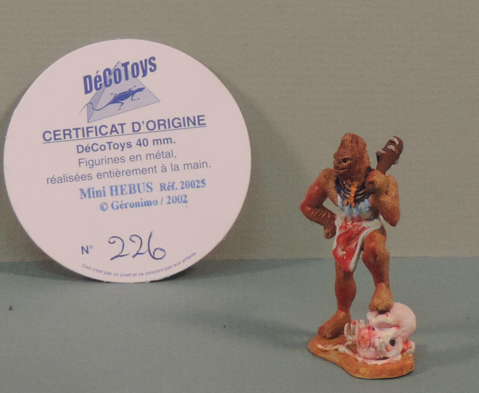 Lanfeust de Troy Hebus mini statuette metal Decotoys 20025 numerote