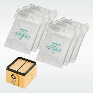VORWERK-FOLLETTO-Set-Farfalla-VK135-136-6-sacchetti-6-profumi-1-filtro-ORIGINALE
