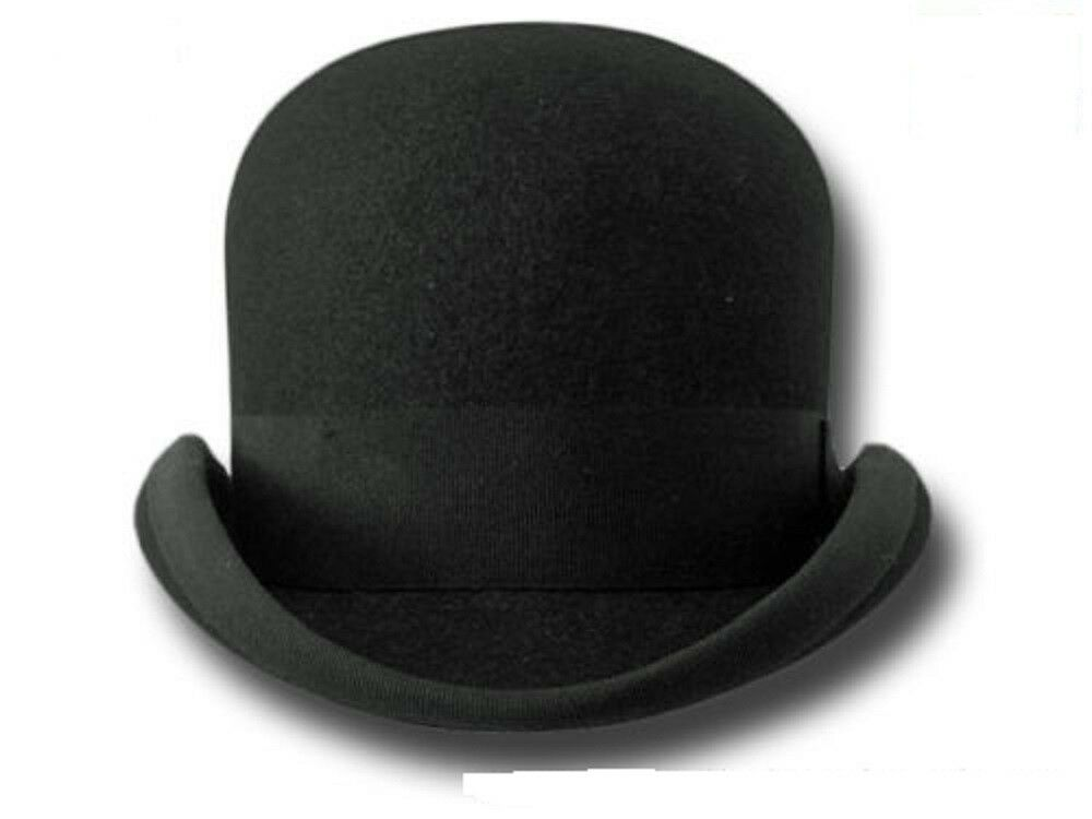 Bowler Hat Bat Masterson Old West Bowler Hair Felt