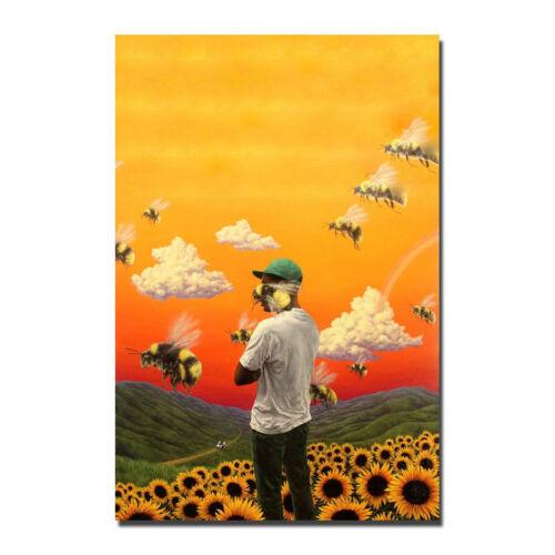 F-262 Tyler the Creator Flower Boy Rap Music Hot Poster Art Print 36 27x40in