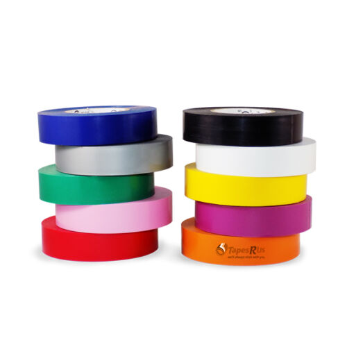 """TapesSupply 10 Rolls Pack Gray Electrical Tape 3//4/"""" x 66 ft"""