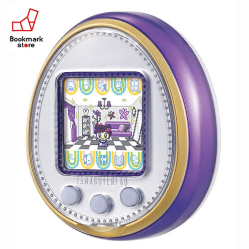 New Bandai Tamagotchi 4U Purple with Tracking Digital Pet Toy Japan Original
