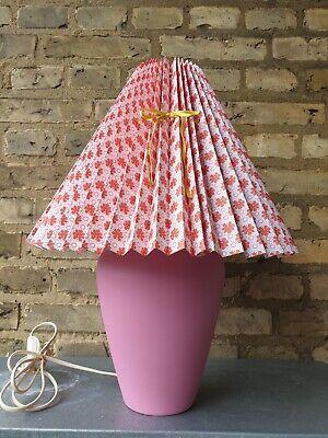 Pink   DBA billige og brugte bordlamper