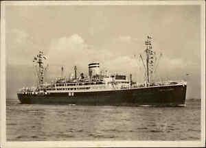 Schiffsfoto-AK-1947-Motorschiff-CORDILLERA-Schiff-Dampfer-Steamer-Foto-Postcard
