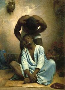 Dream-art-Oil-painting-Leon-Bonnat-Male-portraits-The-barber-of-Suez-hand-paint