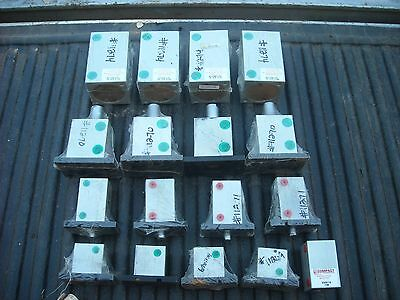 Compact Air Products Pneumatic Cylinders Lot of 17 Various Sizes. New!