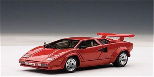 LAMBORGHINI COUNTACH 5000 S rosso WITH OPENINGS 1/43 AUTOART 54531